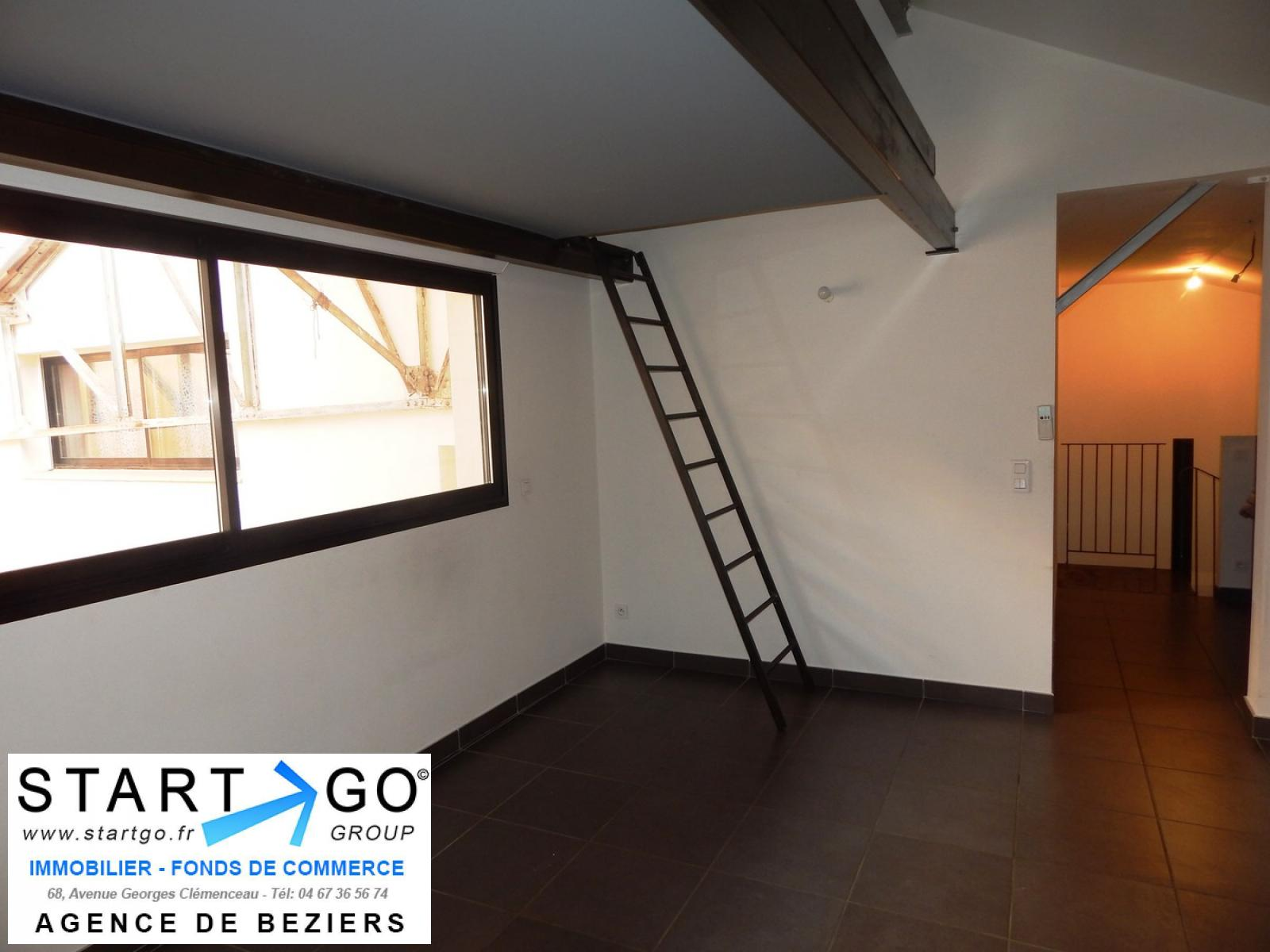 Annonce location appartement b ziers 34500 38 m 45 for Location appartement meuble beziers